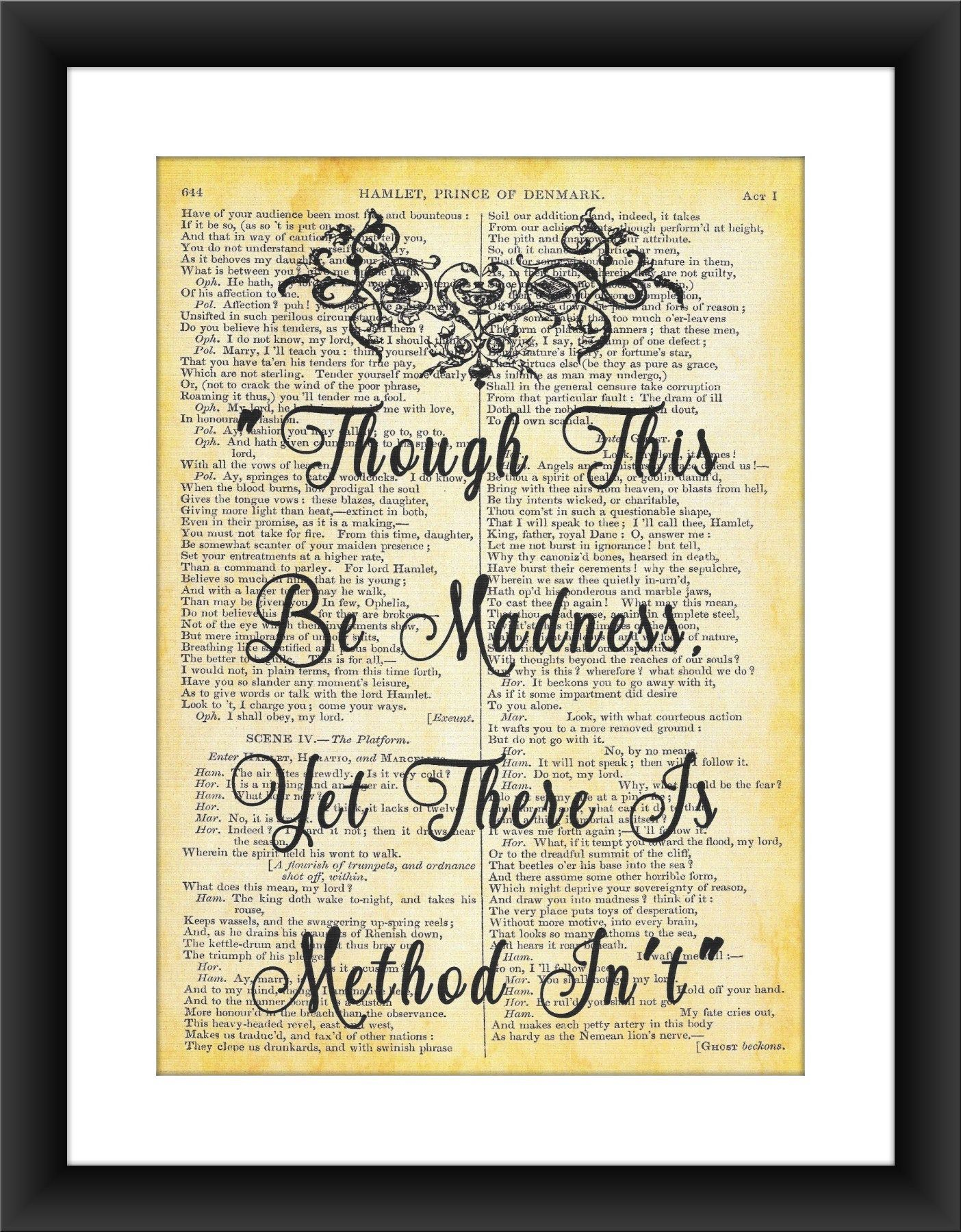 William Shakespeare Quote From The Play Hamlet On ...