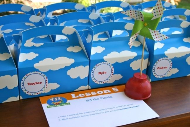 Plane Themed Birthday Party Dessert Table Planes party Planes