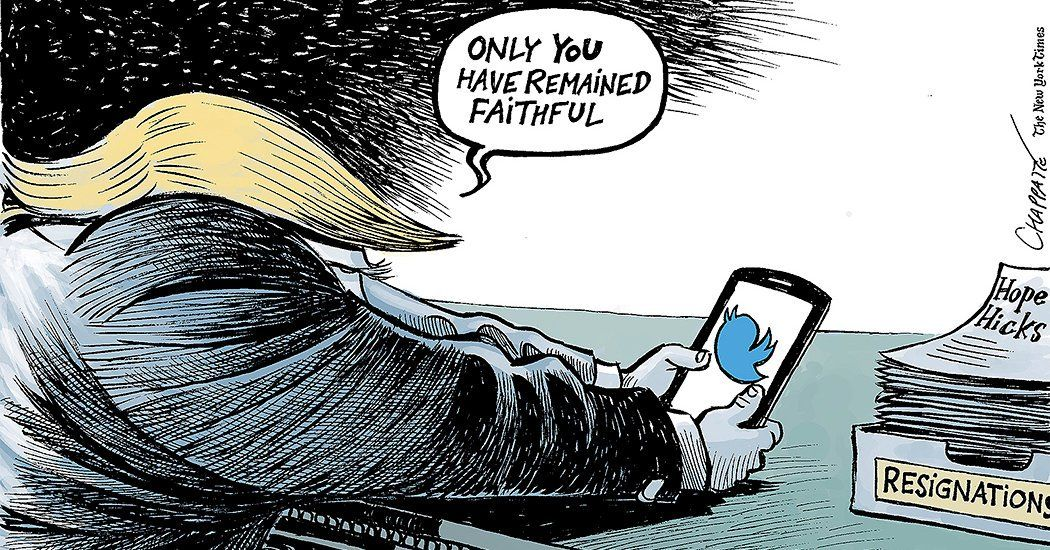 Opinion Hope Or Not There S Still Twitter Published 2018 Hope Faith Cartoon