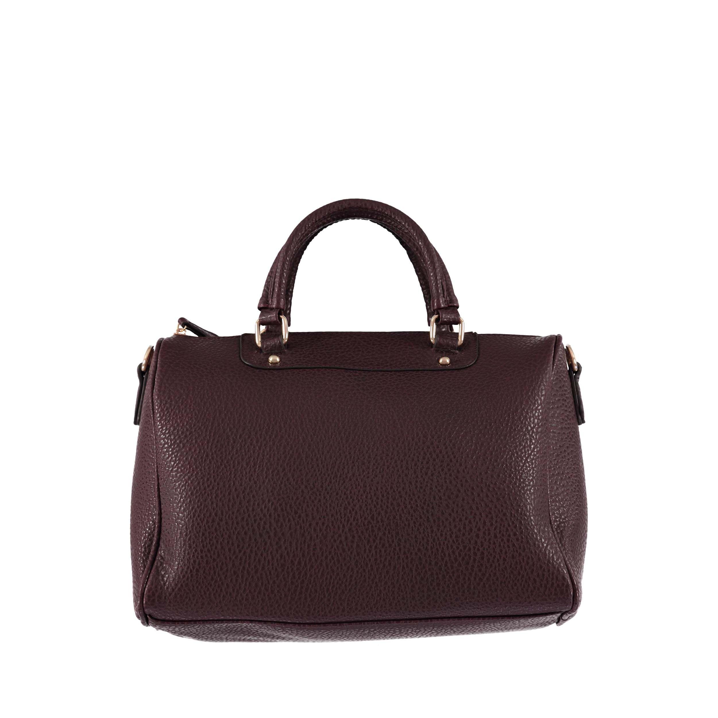 Bowling bag with grainé texture - € 39,95