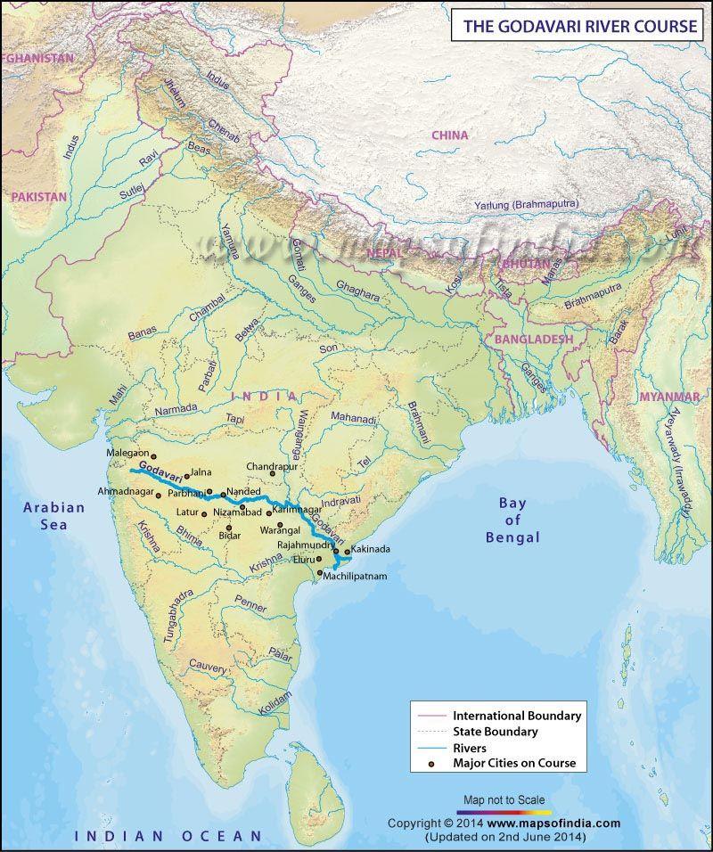 essay on godavari river in telugu