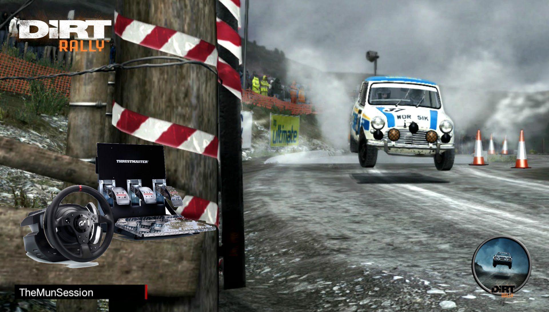 DiRT Rally Simulator MINI Cooper S cv Cockpit Prueba Scratch