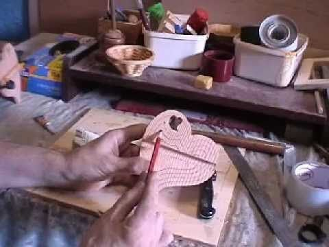 How to make a Heart-Shaped box with your Scroll Saw WITHOUT PLANS