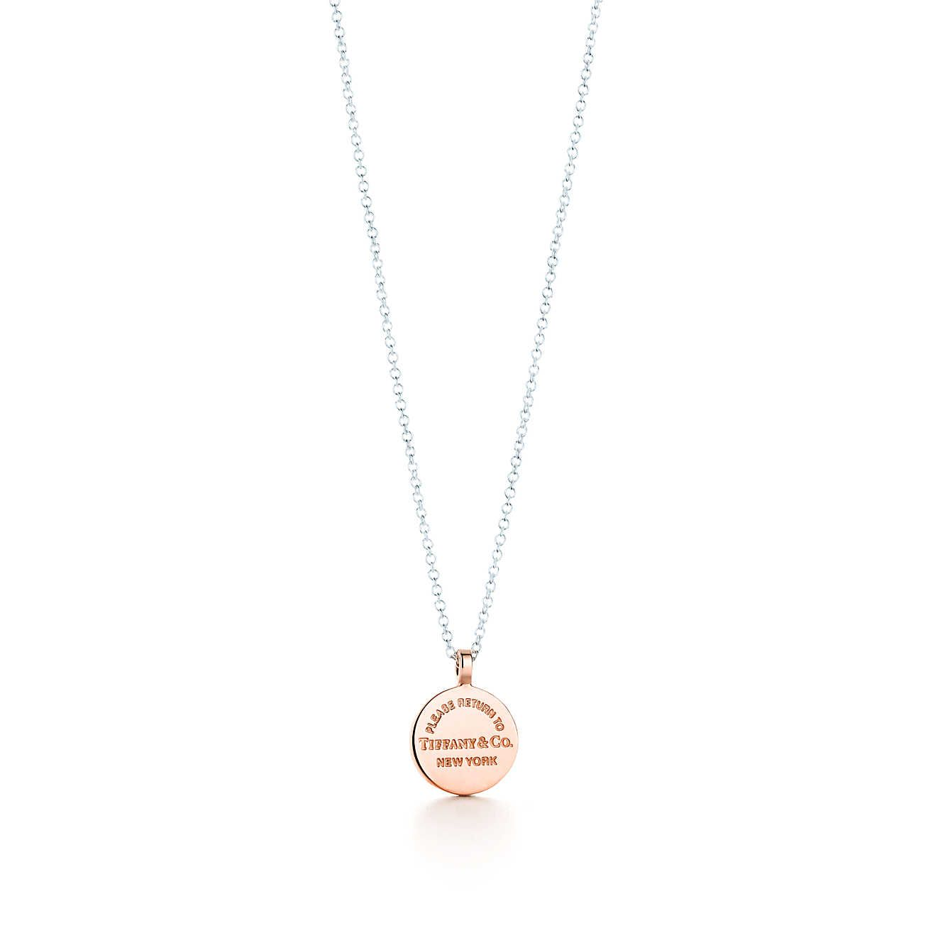 eeb367d5a Return to Tiffany Circle Pendant < Browse Little Luxuries We Love Return to  Tiffany®:Circle Pendant RETURN TO TIFFANY® CIRCLE PENDANT In sterling silver  and ...