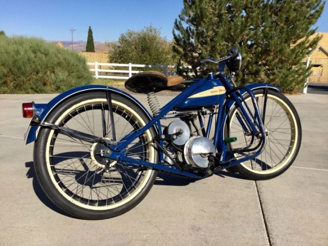 Unrestored Runner w/ Great Patina: 1952 Simplex Servi-Cycle