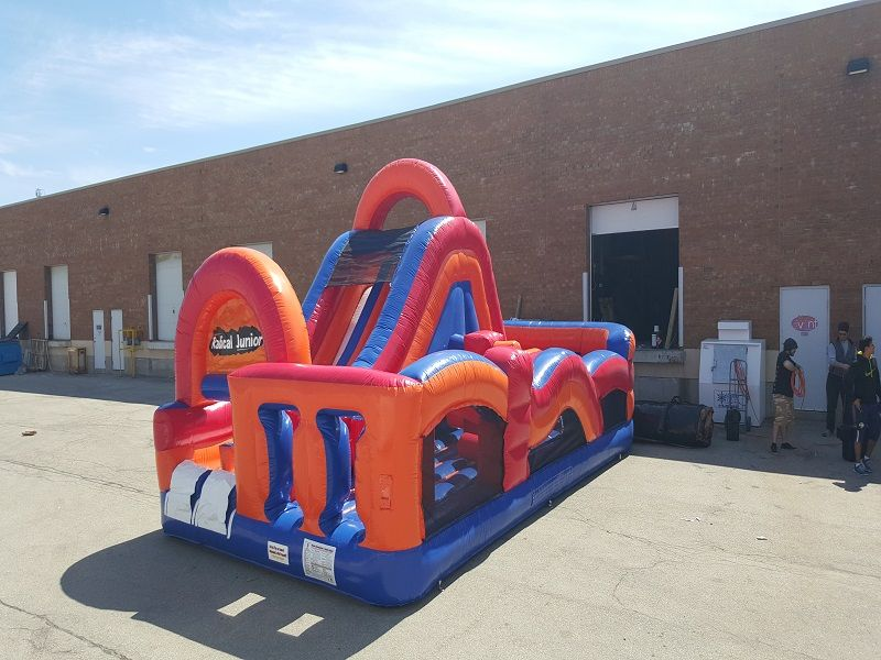 Inflatable obstacle course rentals toronto mississauga