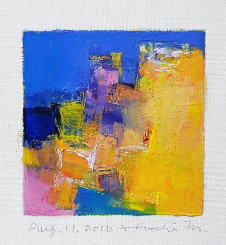 https://flic.kr/p/L3BYWg | aug112016 | Oil on canvas 9 cm x 9 cm © 2016 Hiroshi Matsumoto www.hiroshimatsumoto.com