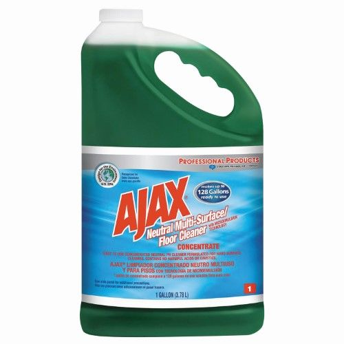 Ajax Professional Multi Surface Floor Cleaner 128 Oz Floor Cleaner Degreasers Cleaners