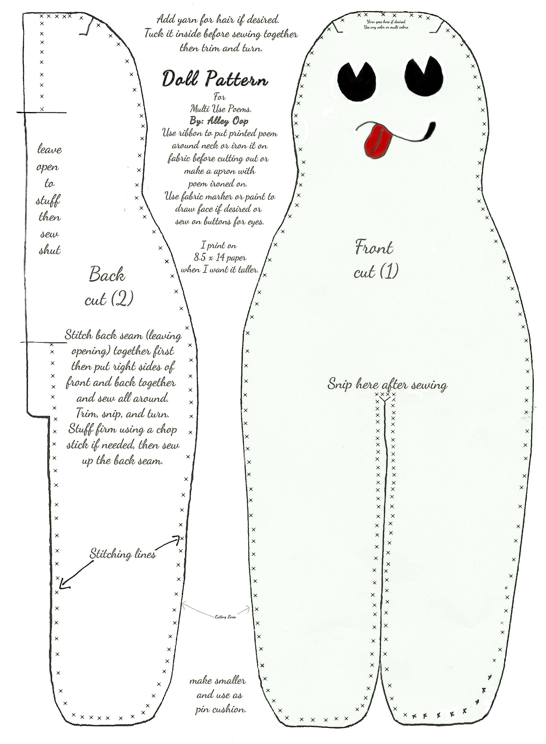 picture regarding Dammit Doll Printable Pattern named Dammit Doll Habit with Guidance dammit dolls Dammit