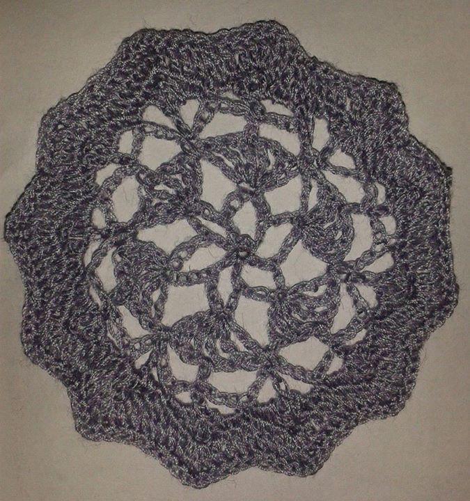 An Irish crochet motif - Pattern in: The Go-to Book for Irish Crochet Motifs http://www.amazon.co.uk/gp/product/1596359234