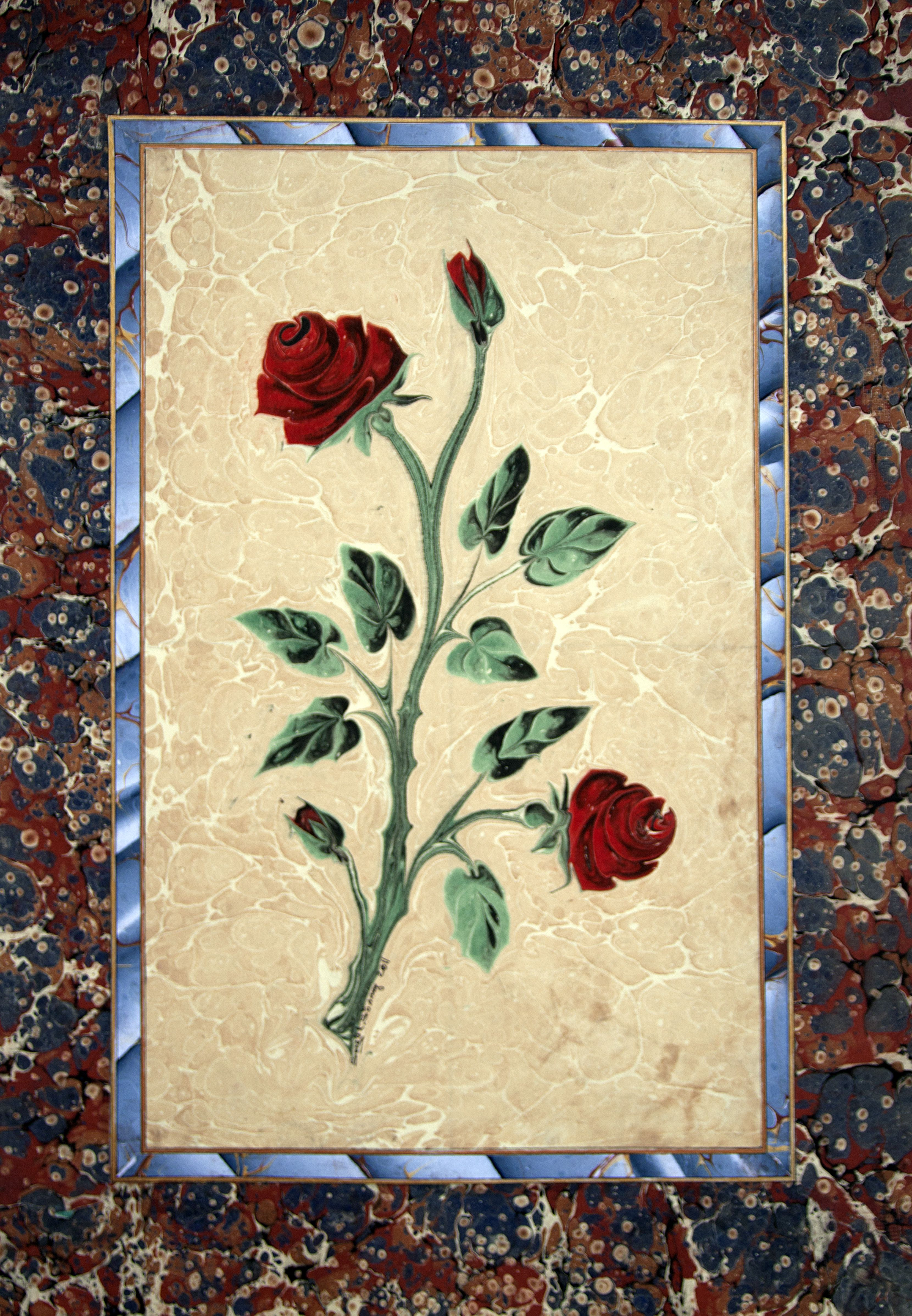 By Song 252 L S 246 Nmez Marbling Marbling Paper Marbled Ebru