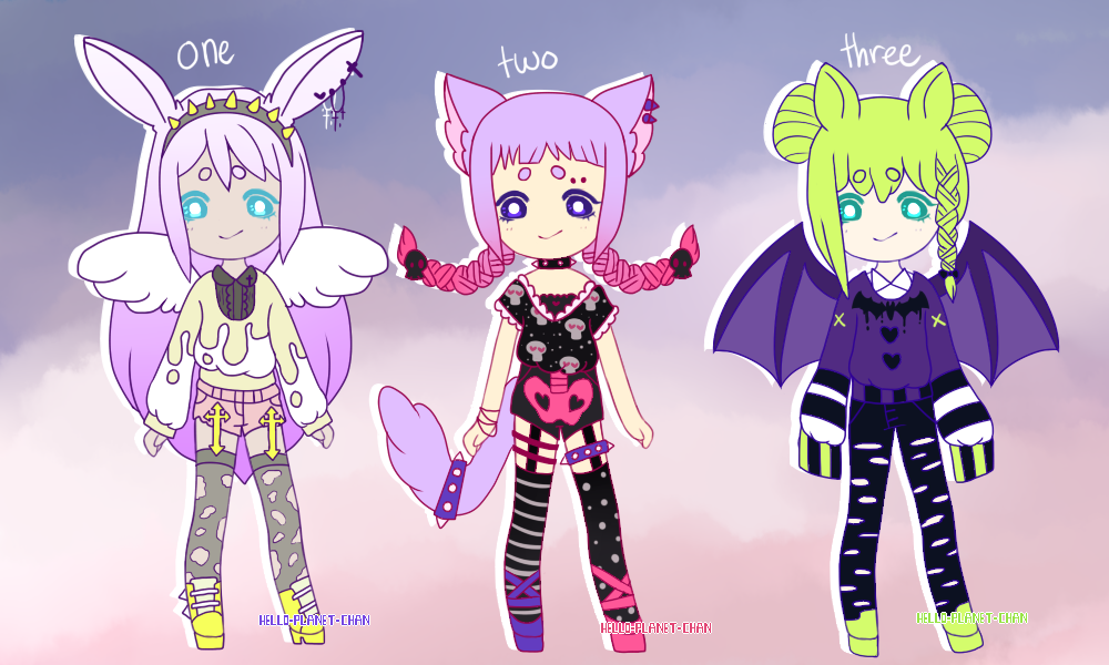 { spooky pastel goth batch } { closed} by