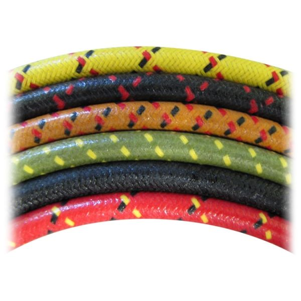 Cloth Spark Plug Wire - 7mm - sold by the foot - Assorted Colors ...