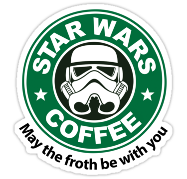 Star Wars Coffee Sticker