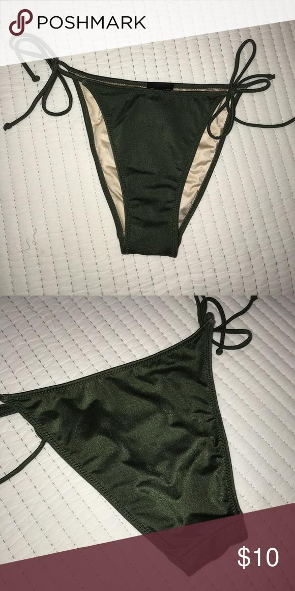NWOT) High-Waisted Bikini Bottom in 2018  851f6fb1f9d8