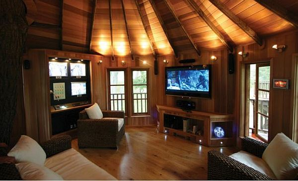 Gadget Tree House In Greece Luxury Tree Houses Tree House Interior Cool Tree Houses