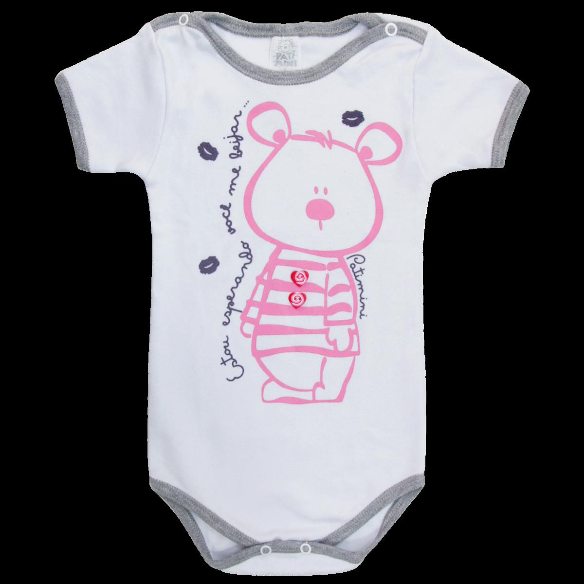 c1cc8a7b9 Body de Bebê Menina- 764 Kids
