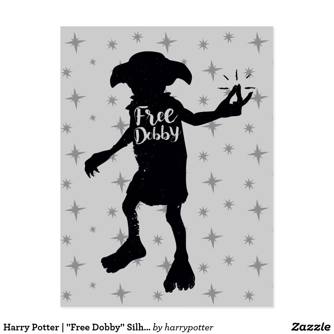 Harry Potter Embroidery design | Machine Embroidery ... |Dobby Harry Potter Svg