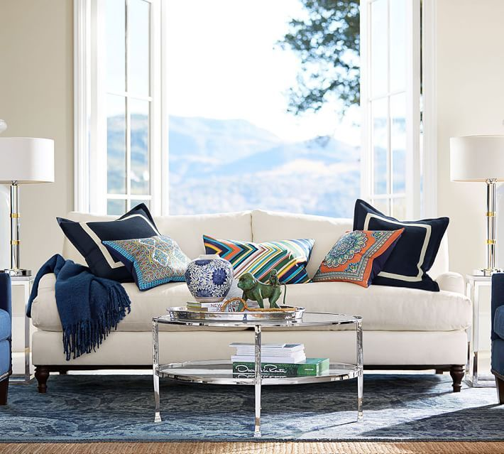 Pottery Barn Outdoor Furniture Reviews: Pottery Barn Carlisle Sofa Review