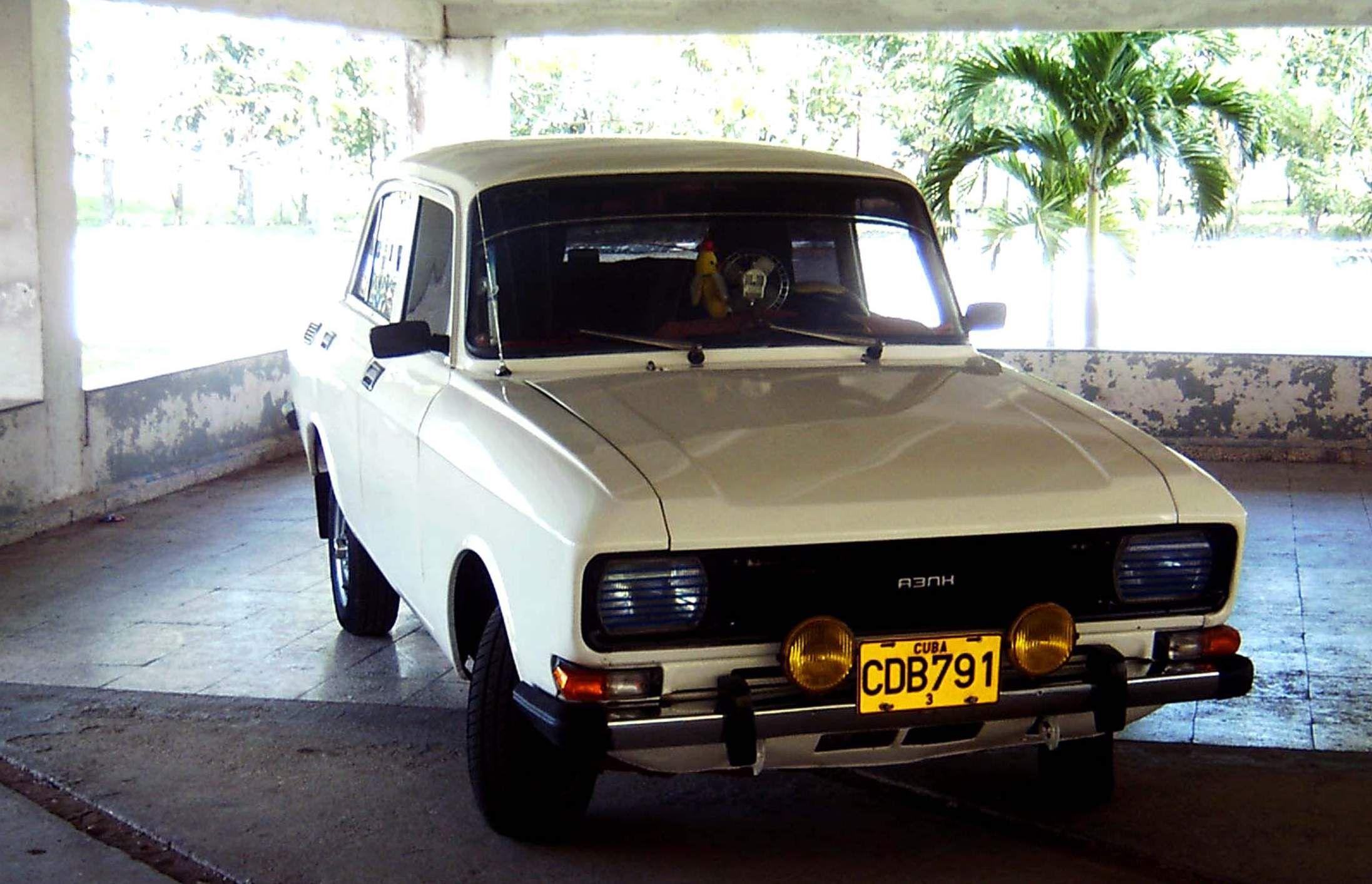 Moskvich Cuba | Old european cars | Pinterest | Cars