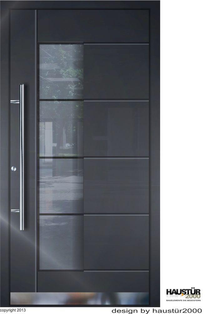 Fenster Ral 7016 aluminium haustür alu haustür haustüren flügelüberdeckend ht 5314 fa