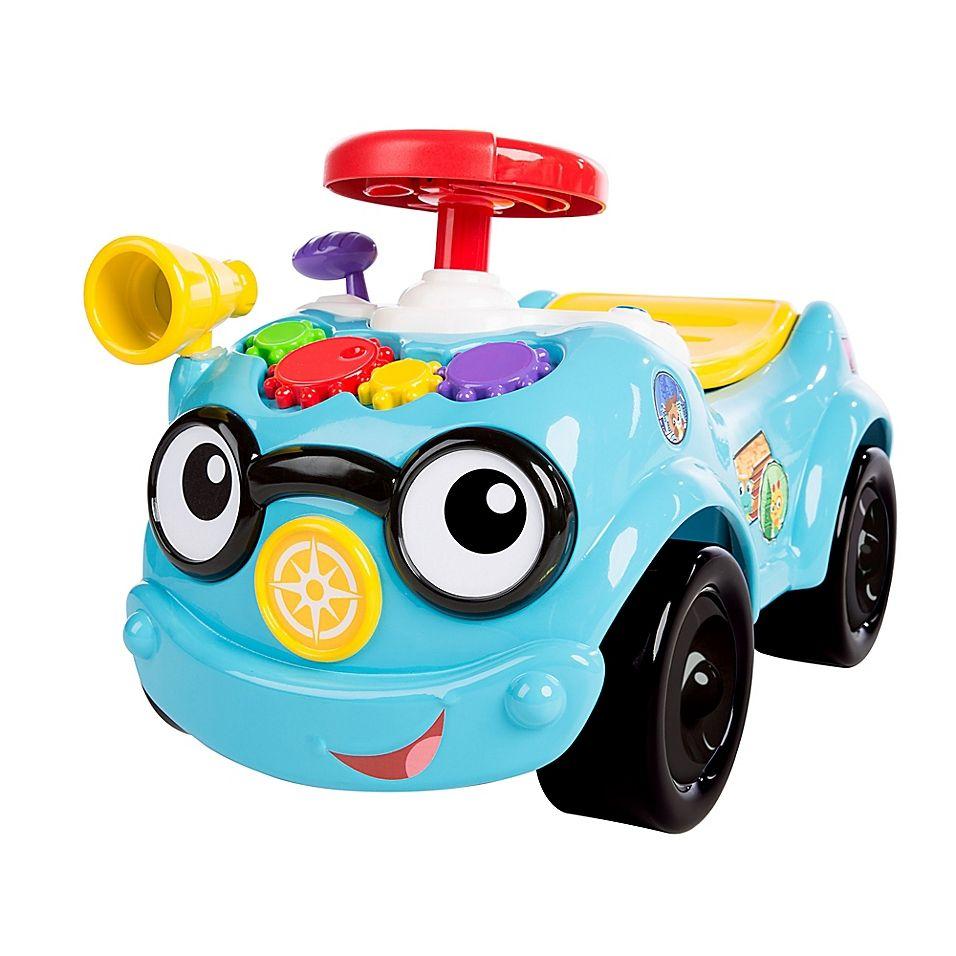 Baby Einstein Roadtripper 2 In 1 Ride On Car Blue Products In