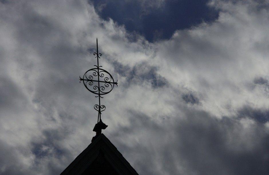 Wrought Iron Cross Chestnut Hill United Church Philadelphia Pennsylvania Usa Chestnut Hill Chestnut Philadelphia