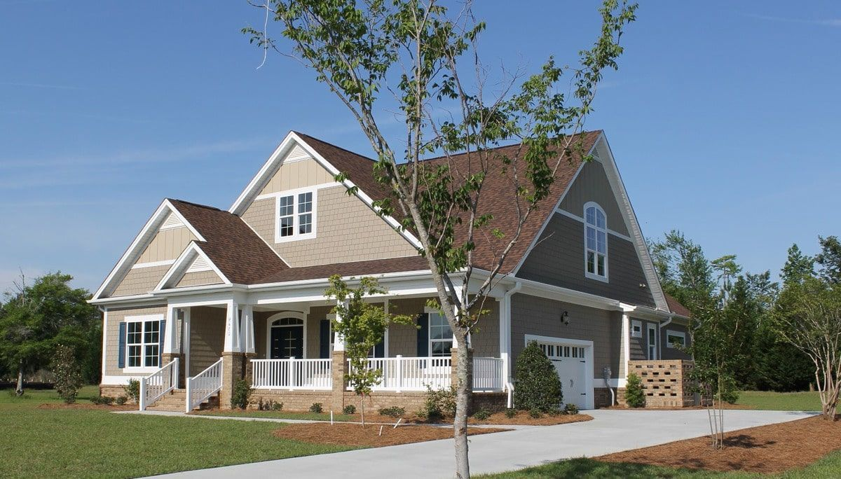 4 Bedroom Two Story Craftsman Style The Fernwood Home with Two Bonus Rooms Floor Plan