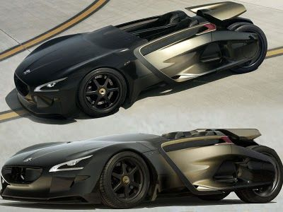 Wonderful 2011 Peugeot EX1 Concept Is An Electric Sport Cars.