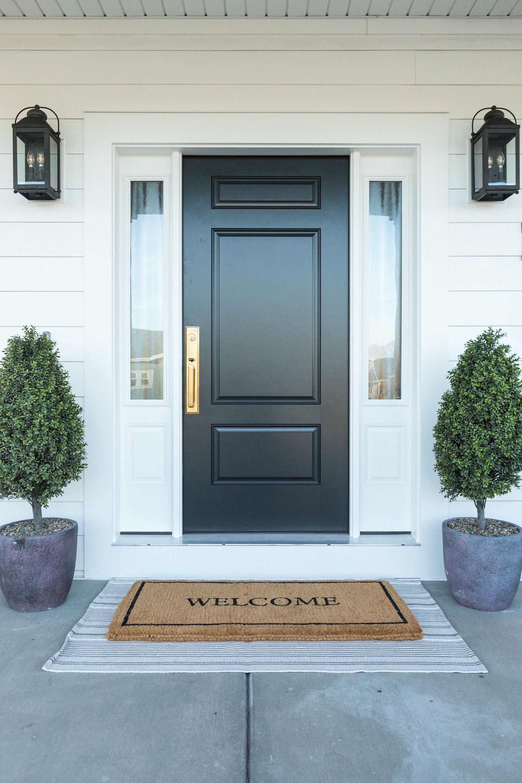 Therma Tru Door Reveal House Of Jade Interiors Blog In 2020 Exterior Doors House Front Door Front Door Inspiration
