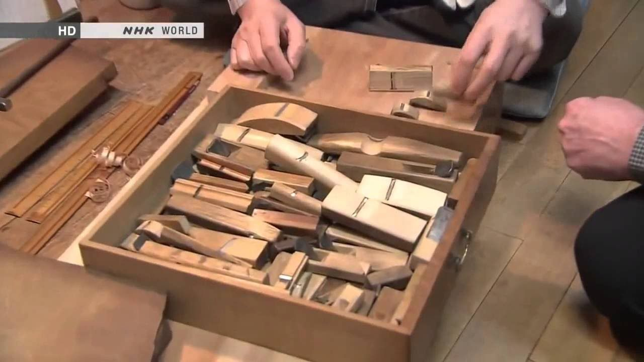 in japan traditional wooden furniture