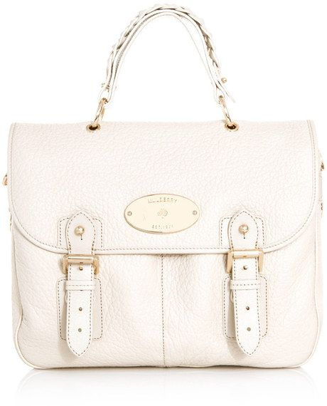 MULBERRY Trout Satchel Bag - Lyst