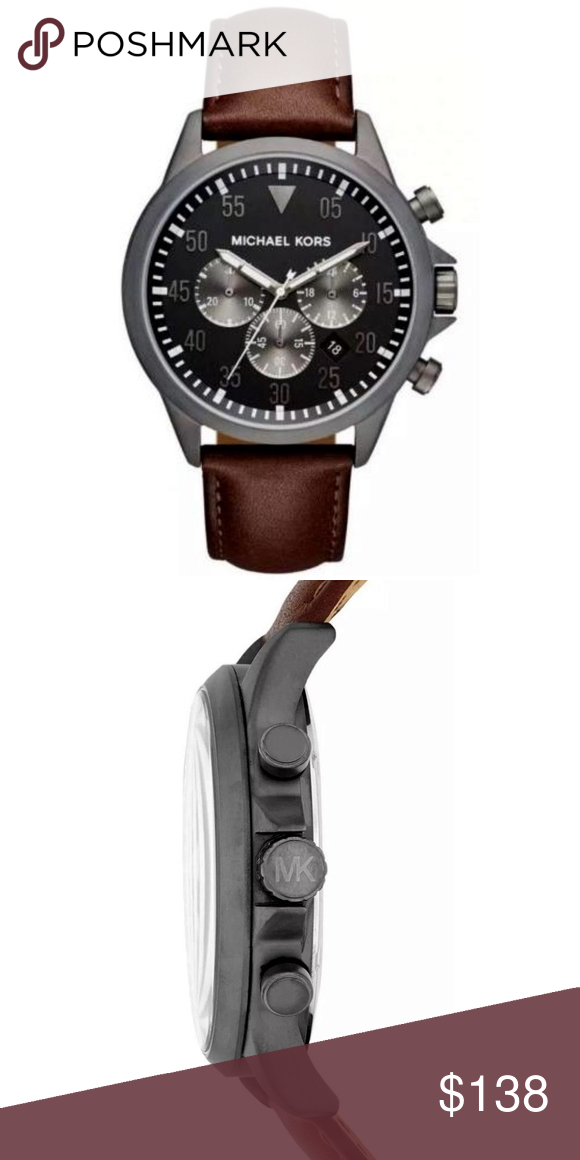 df3ce8e54358 Michael Kors Gage Chronograph Watch