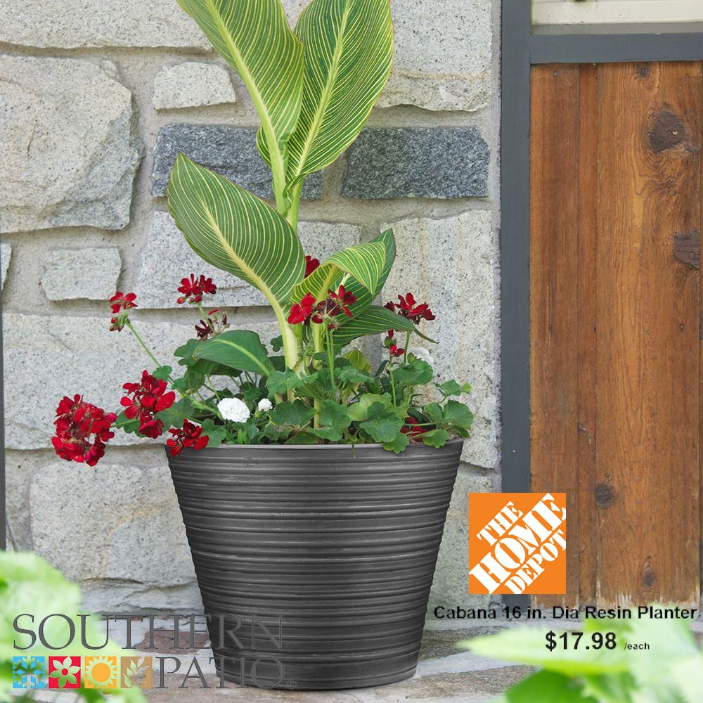 Hdr 16 cabana planter cabana planters and garden pots 16 cabana planter as sold by the home depot workwithnaturefo