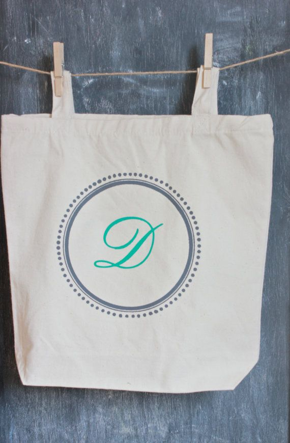 Personalized bridesmaids bags gifts Wedding by MODERNVINTAGEMARKET