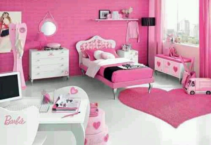 Pin by Gina 🎀 Cintron on Bedrooms and nurseries for girls - Teen Room Decorating Ideas