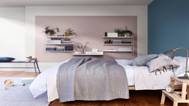 Slaapkamer Met Pastelkleuren : Relaxte pastelkleuren voor in de slaapkamer heart wood colour