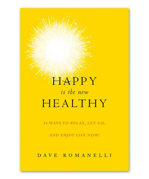 Look at this Happy Is the New Healthy Hardcover on #zulily today!