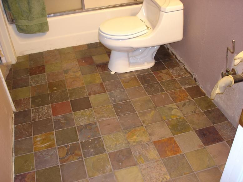 slate tile in kitchen slate bathroom floor all one shade of color though 5322
