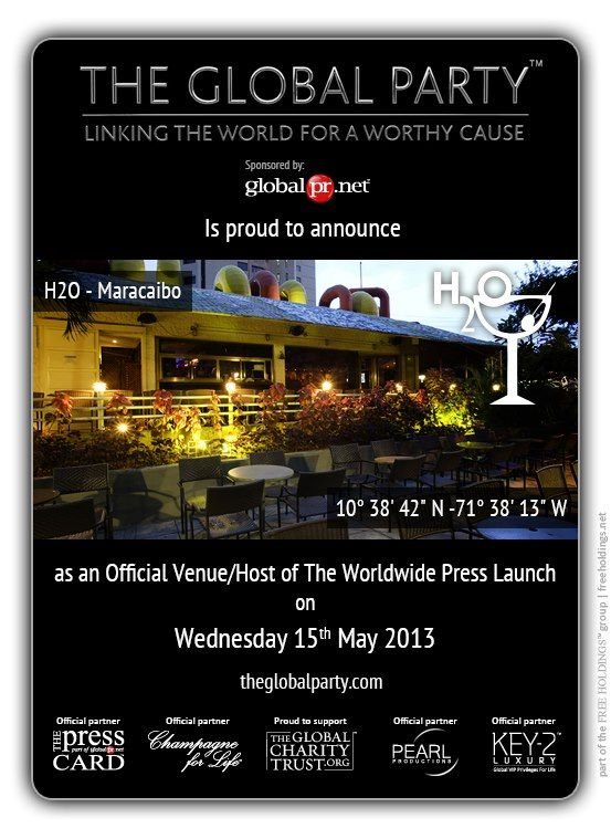 As a #Journalist, #Blogger or #Media Correspondent register to attend: http://www.theglobalparty.com/the-worldwide-press-launch
