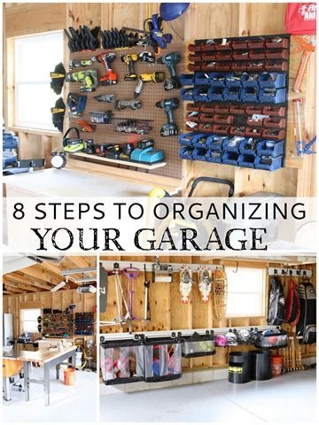 This is an amazing garage makeover!! Great Garage-Organizing-Tips @findinghome