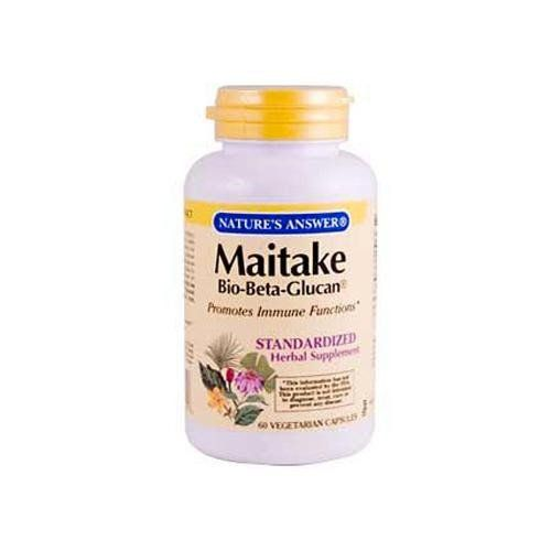 Nature S Answer Maitake Bio Beta Glucan 60 Veg Capsules Ginger Rhizome Promote Healthy Digestion Astragalus Root
