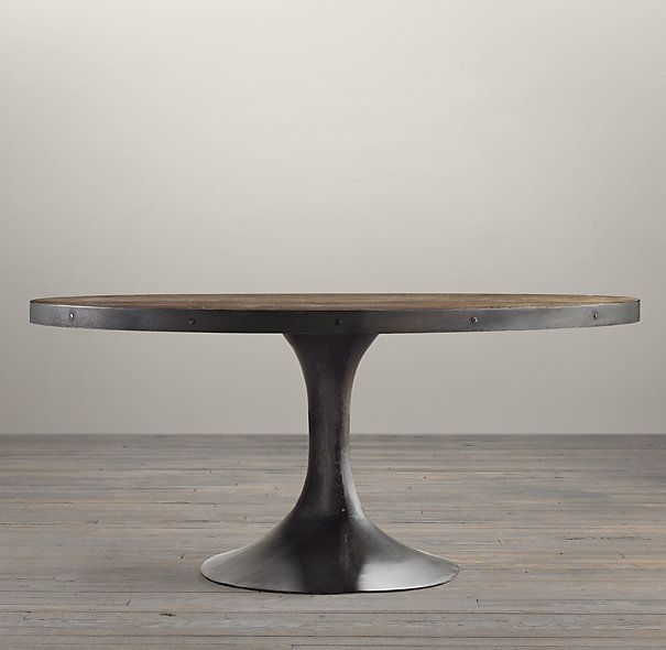 Aero Reclaimed Elm Oval Dining Table Dining Table