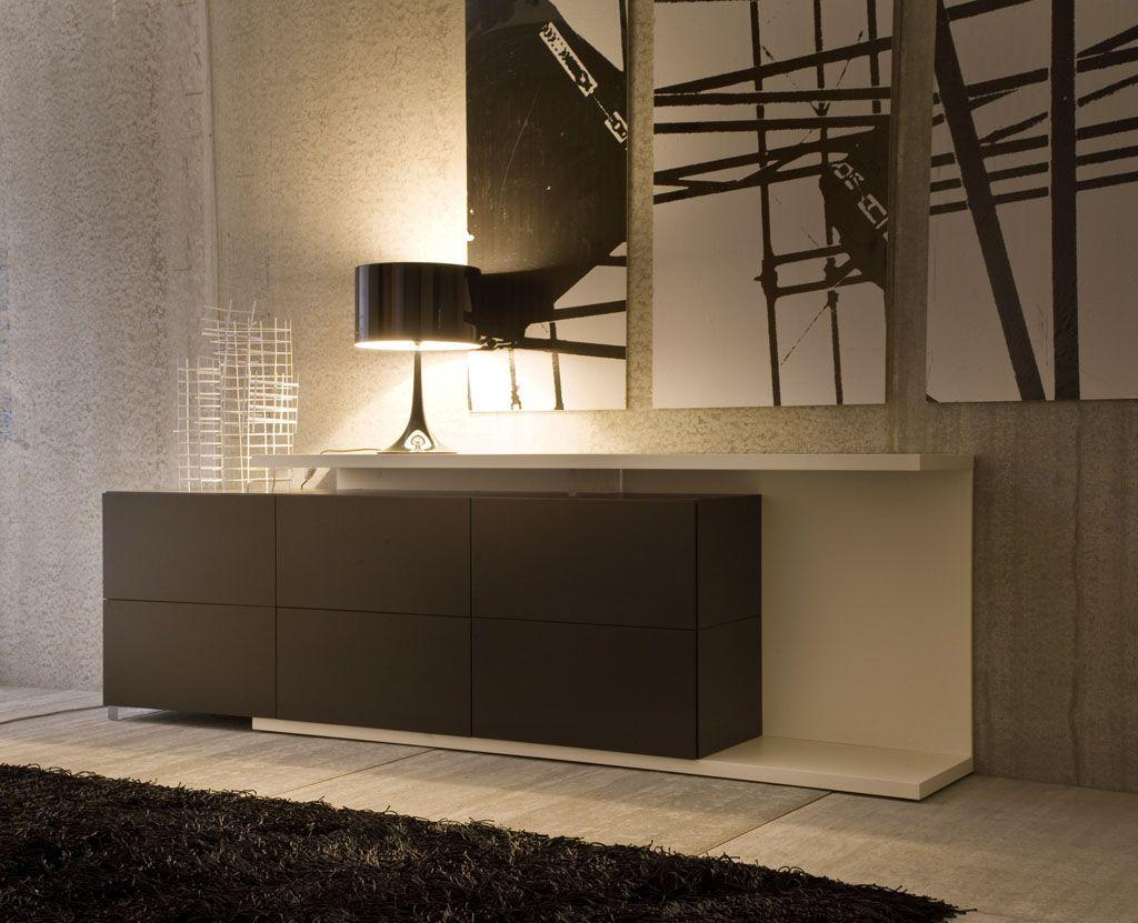 Aparador de dise o minimalista qube iq decoracion for Zapateros de diseno minimalista