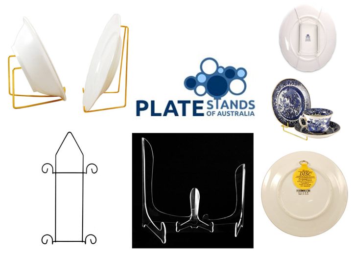 Shop for decorative plate stands from Plate Stands of