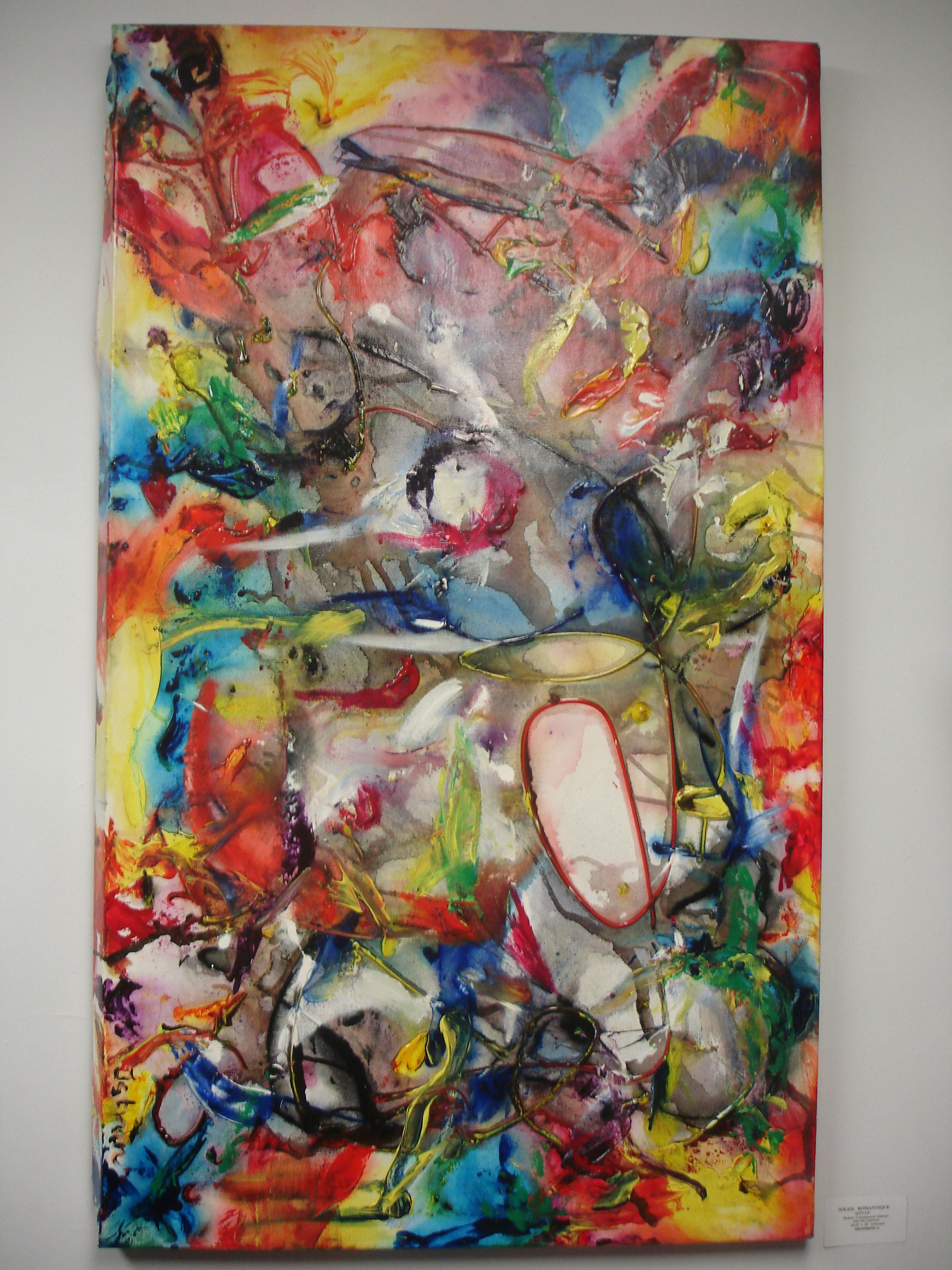 original abstract by Hungarian artist ISTVAN www.gallery36.ca