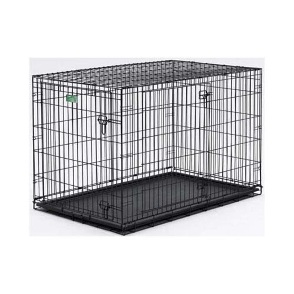 Amazon Com Midwest Icrate Double Door Folding Metal Dog
