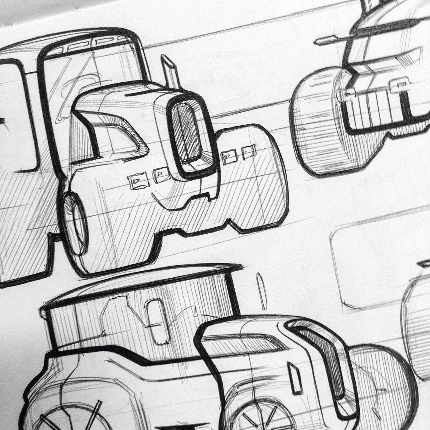Sketch | design sketches | Pinterest | Traktoren und Skizzen