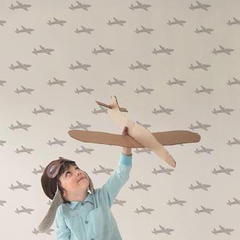 papiers peints, décors panoramiques : enfant - collection 'Malice' Montecolino