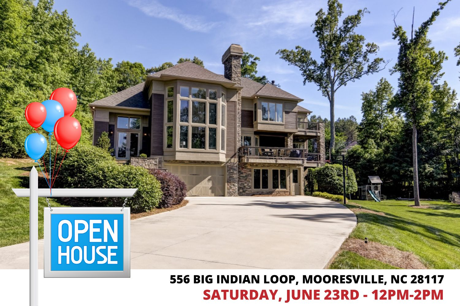 (UNDER CONTRACT) 556 Big Indian Loop, Mooresville, NC